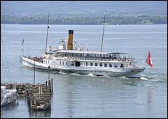 CGN la Savoie  Yvoire (wilphid) Tags: lac bateau lman navigation hautesavoie yvoire cgn chablais