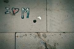 "Pavement love ! (CJS*64 ""Man with a camera"") Tags: abstract love portugal lines sign grey graffiti nikon pavement write nikkor dslr signal madeira funchal cjs nikkorlens d7000 nikond7000 craigsunter cjs64"