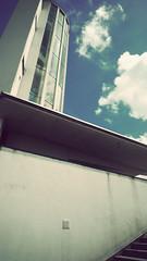 P1040369vf (hans fotografeert) Tags: seascape holland building tower dutch landscape lumix view panasonic compact watchtower afsluitdijk lx3 kornwederzand thedockviewanddetailsfromthewatchtower afsluitdijkhollandstairwayviewafsluitdijkhollanddutchviewpanasoniclx3compactnederland