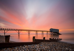 Dawn At RNLI Selsey Lifeboat Station (DanRansley) Tags: morning sea sky sunrise dawn westsussex lifeboat southcoast selsey danransleyphotography