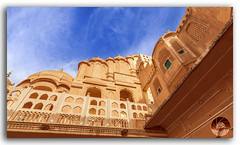 Hawa Mahal Palace (Palace of Winds), famous landmark of Jaipur (KS Photography!) Tags: pink windows red colour building heritage history monument colors architecture clouds facade vintage sandstone colorful exterior outdoor interior air famous landmark palace structure historic dome breeze shape decor jaipur havamahal attraction rajasthan hawamahal islamic pinkcity pyramidal mughal windpalace finials latticework hindugod jharokha palaceofwinds rajputarchitecture paronamic architecturalheritage fivestorey hindurajput crownofkrishna