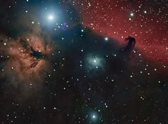 NGC2023 (JensNielsen) Tags: public ngc astrophotography horseheadnebula astrofoto astrometrydotnet:status=solved ngc2012 astrometrydotnet:id=nova1620399