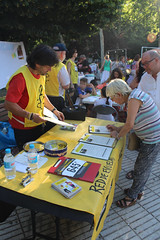 """No pases olmpicamente!"" - Taller infantil y mesa de recogida de firmas (AI Vallecas) Tags: amnestyinternational amnistainternacional vallecas madrid derechoshumanos juegosolmpicos rodejaneiro jjoorodejaneiro2016 brasil brazil"