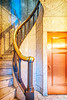 Turn (ken mccown) Tags: minnesota architecture stairs minneapolis chapel baluster lakewoodcemetery harrywildjones lakewoodcemeterymemorialchapel