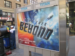 Star Trek Beyond Poster Billboard Phone Booth AD 1910 (Brechtbug) Tags: show street new york city nyc fiction film television st trek booth movie poster star tv jj theater phone mr theatre manhattan district space rip ad broadway science billboard midtown sidewalk ave captain spock scifi series beyond anton 1960s avenue abrams 7th futuristic kirk 32nd 2016 standee standees yelchin 06292016