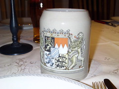 Beer stein (Like_the_Grand_Canyon) Tags: beer bayern deutschland bavaria german bier franken glas krug deutsch frankonia