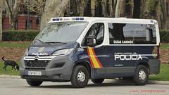 Nueva Citroen Jumper de la Policía Nacional (Guias Caninos) (juanemergencias) Tags: españa spain police policia k9 cnp