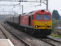60011 (Alan Sansbury) Tags: britishrail ews class60 railfreight diesellocomotives dbschenker englishscottishwelshrailways