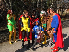 IMG_3686 (foodbyfax) Tags: phoenix cosplay superman batman supergirl rogue superboy gambit kittypryde heroesallianceohio