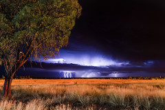 Don't stand over there (Insert something thoughtful) Tags: storm country australia queensland lightning 6d canonef24105mmf4lisusm