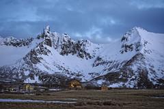 Myrland mountains, LOfoten (catohansen) Tags: winter mountains village arctic flakstad myrland