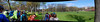 Pedal on Meadows 2015 (beqi) Tags: panorama bike bicycle edinburgh meadows photoshoppery 2015 pedalonparliament pop2015