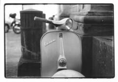 Chiardiluna Vespa Style (guido.masi) Tags: blackandwhite canon print 50mm florence vespa 14 firenze ilfordhp5plus400 50 biancoenero piaggio ssc ftb stampa guidomasi