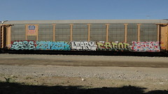 ASOE ZEMEK LEARY CBFORE SUDZ (TrackSideLife) Tags: train graffiti freight leary wsn cik sudz omt tfk upsk asoe zemek cbfore