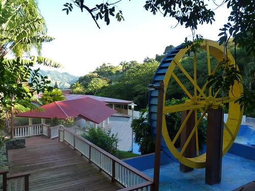 Jayuya, Hacienda Gripinas water wheel