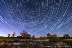 Leicestershire star trails (J. Brown Photography) Tags: brown abbey night stars photography james photo long exposure launde sony trails astrophotography alpha startrails