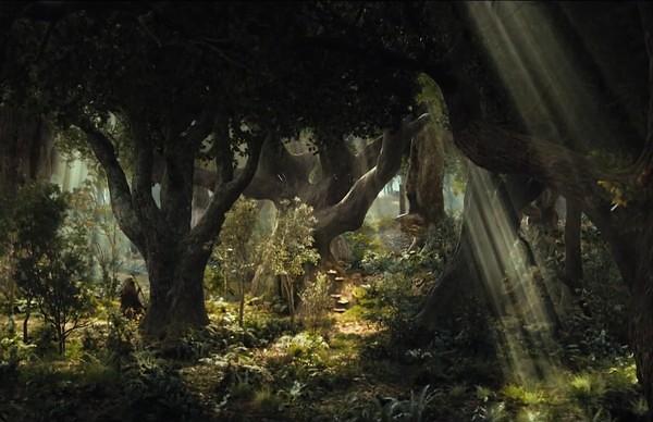 2(Bên dưới thung lũng là cánh rừng ma mị Mirkwood tuyệt đẹp)
