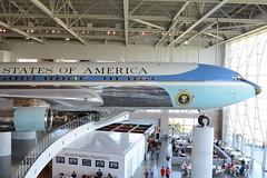 C&C (rschnaible) Tags: california usa west america plane work airplane one 1 us force library air united tail sightseeing tourist presidential number valley transportation reagan western vehicle production destination states boeing 707 simi 27000 of