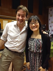 Mary Wu with Phil Whelan