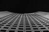 high into the sky (der Brauni) Tags: bw architecture night pentax leipzig architektur sw uniriese k50 mdrtower da50f18