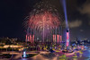 South East Asian (SEA) Games Opening Ceremony rehearsal fireworks May 15