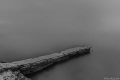 By The Water.... (Owen Piscopo) Tags: longexposure bw seascape monochrome nikon malta nikon2470f28 nikond750 owenpiscopo