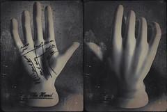 Possess(ed)-4936 (Poetic Medium) Tags: stilllife ceramic diptych ipod hand personal possession mextures kitcamghostbird