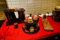 Puffs and tarts (A. Wee) Tags: france dessert restaurant hotel pashmina valthorens     lerefuge lebasecamp