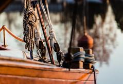 Sail away (Lena_CS) Tags: boat bokeh ropes knots 100x2016edition