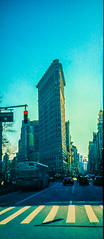 flatiron building (debdebe) Tags: building 35mm icon analogue flatiron filmisnotdead