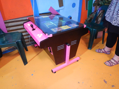 Pink Arcade Machine