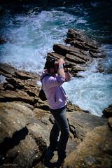 DSC_0047 (FlipperOo) Tags: voyage sea mer france color st rock port de nikon pierre vagues plage morbihan blanc roche arche quiberon instagramapp