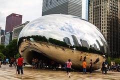 Cloud Gate (photodiaryobscura) Tags: art sculpture illinois chicago millenniumpark attplaza thebean cloudgate