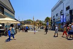 Jaffa harbour / On the docks (Pantchoa) Tags: jaffa isrl telaviv moyenorient nikon d7100 1685 quais hangars stperterschurch people vieuxjaffa jaffaoldcity pantchoa franoisdenodrest