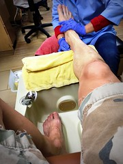 #Pedicure time. () Tags: feet apple wet muscles foot phone legs telephone leg cellphone cell mani massage mobilephone ps manicure pedicure gps pieds bodypart piedi beine myfeet humanbody iphone piernas voeten qualitytime size12 partofme pedi traed  pedes  begoodtoyourself appleiphone  takenwithaniphone fse stavrosfeet iphone6 iphonecapture backcamera iphone6capture