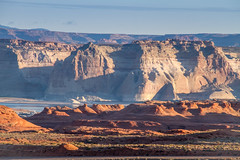 Good Morning America , How Are You (skram1v) Tags: light arizona marina utah dam earlymorning redrock lakepowell glencanyon greyrock april2016