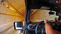 Just Cruising.  Maunabo's Tunnel in Puerto Rico (jasanves) Tags: zoom tunel paisaje scenic maunabo wrangler jeeplife caribbean tropical tunnel adventure puertorico jeep cruising