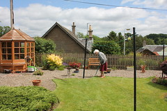 18th June 2016 (lucyphotography) Tags: garden grandmother gardening granny shears edging