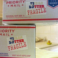 """So apparently, starting today, shipping with a label that says """"fragile"""" doubles+ the price. Our new labels will now say """"HAY!!! EUW SUMBITCH!!! Do Not Kick This Box Around Like I Saw You Do In The Video Last Christmas On Texa""""... Lord, Thank you for crea (texasbutter@att.net1) Tags: favorite food love beautiful dinner bacon yummy texas yum natural eating beef comida myfav delicious eat foodporn homemade spices mesquite chef barbecue hotsauce yumyum munchies foodie texasbbq smoked getinmybelly picoftheday foodblog foodgasm instafood foodpics my365 madeintexas sharefood goodgawd doingwhatilove forkyeah texashotsauce thedailybite texasbutter instafoodie eeeeeats texasbuttersauce"""