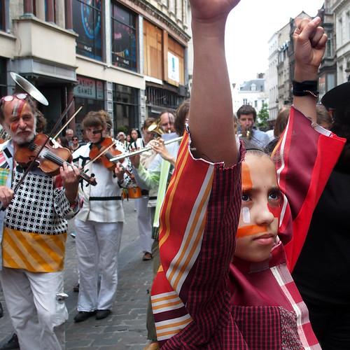 Zinneke Parade 2016 . BaWaZun ¬ 20160521.0394