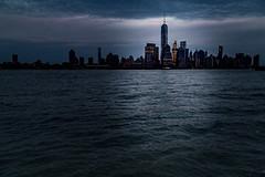 Beacon of light (Rajan Raju) Tags: newyork cityscape skyline duskskyline freedomtower