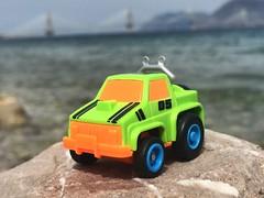 #my_sons_cars #maisto #greentruck #maisto4x4 #modelcar #miniature #toycar #05 #car #bridge #rio #bridgerioantirio #sea #bythesea (Giwrgos Skondras) Tags: bridge sea car rio miniature 05 toycar modelcar maisto bythesea greentruck bridgerioantirio mysonscars maisto4x4