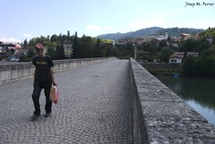 EL PONT DE VISEGRAD (Republika Spraska, agost de 2012) (perfectdayjosep) Tags: republikaspraska balcans balcanes balkans perfectdayjosep pontdevisegrad visegrad visegradbridge elpontsobreeldrina