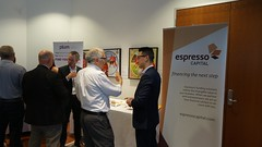"Event Sponsor, Espresso Capital, and Investee Company, Plum, at the Investee Showcase. • <a style=""font-size:0.8em;"" href=""https://www.flickr.com/photos/124986169@N08/27581726450/"" target=""_blank"">View on Flickr</a>"