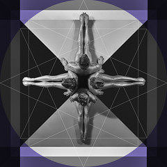 sacred geometry (keithpersallphotographer.com) Tags: geometric artnude symmetrical fromabove art