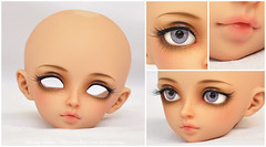 MNF Rin for Nenstra (Eludys) Tags: ball doll skin tan makeup bjd fairyland rin tanned msd jointed mnf faceup minifee eludys