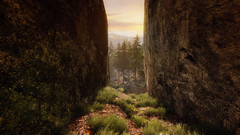 VOEC - 051 (Screenshotgraphy) Tags: sunset sky mountain lake game nature colors architecture clouds contrast montagne landscape pc screenshot lumire couleurs country lac ethan steam gaming ciel beaut carter concept nuages paysage vanishing campagne beautifull jeu naturelle urbain