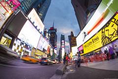 NYC Time Square, Buzzing WIth Life II Jul-13-16 (Bader Alotaby) Tags: city nyc travel blue sunset summer sculpture usa chicago ny art skyline architecture modern skyscraper square photography hotel bahrain illinois amazing nikon downtown dubai cityscape cta nightscape time loop leed flamingo uae central sigma center jfk fisheye tokina hour 8mm ord riyadh 18200 gcc rafal doh doha qatar burj hok dxb cma ksa ruh kempinski kkia 1116 megatall khalifah samyang supertall d7100 manamah kfnl kafd kapsarc