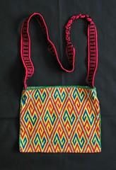 Huichol Morral Bag Mexico (Teyacapan) Tags: mexican purse bags textiles bolsa embroidered huichol morral
