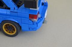 Detail (Rhys' Pieces (Rhys Sharry)) Tags: lego subaru impreza wrx sti